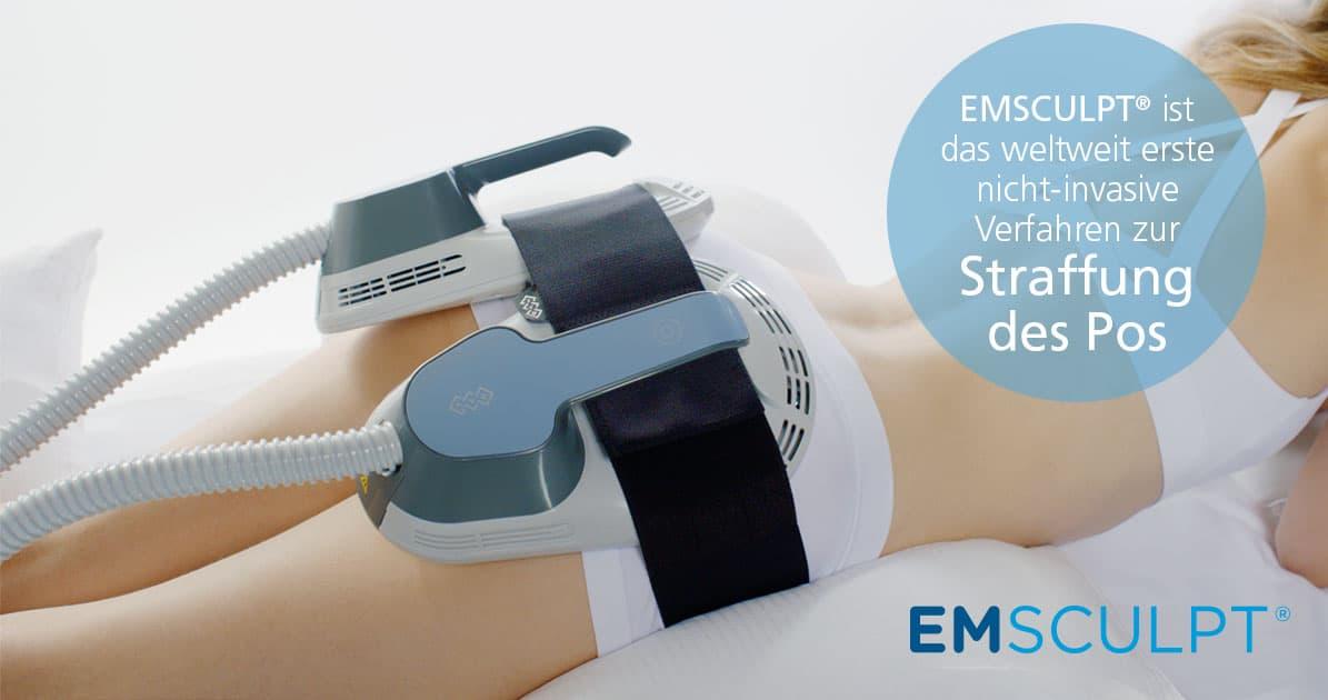 Postraffung mit EMSCULPT in Hannover