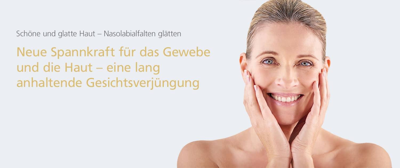 Schöne und glatte Haut – Nasolabialfalten glätten in Hannover