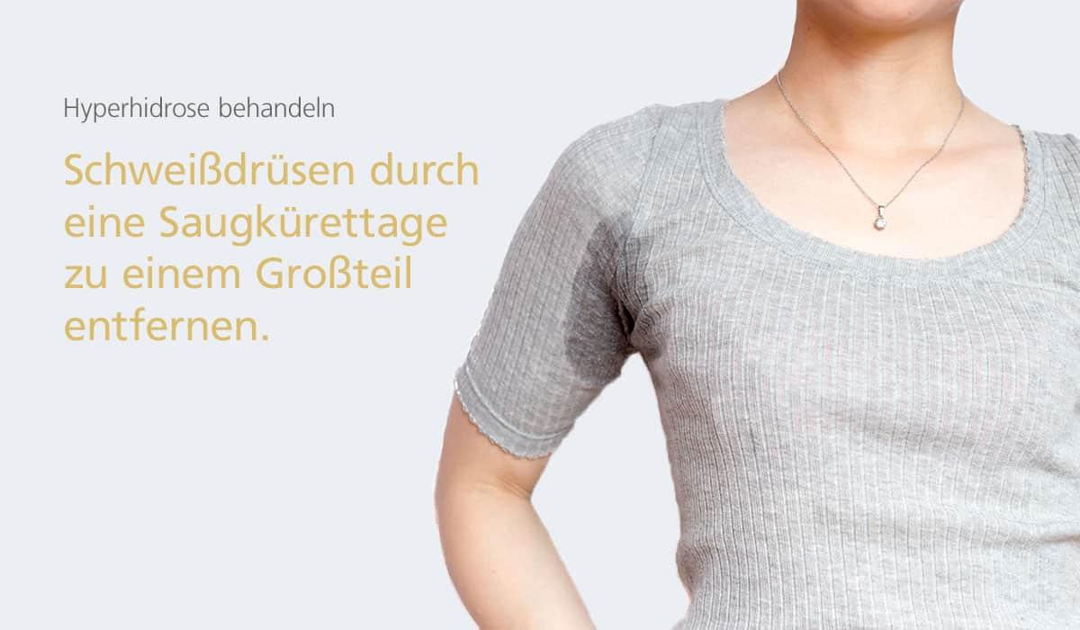 Hyperhidrose, starkes Schwitzen behandeln bei Dr. med. Katrin Müller in Hannover