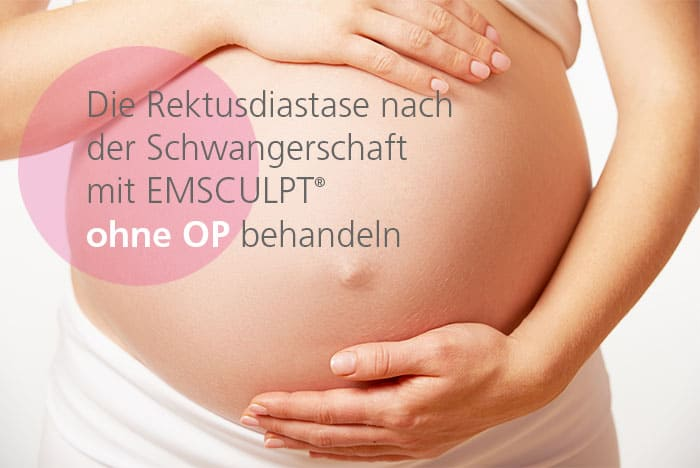 Die Rektusdiastase mit EMSCULPT ohne OP behandeln bei Dr. med. Katrin Müller in Hannover