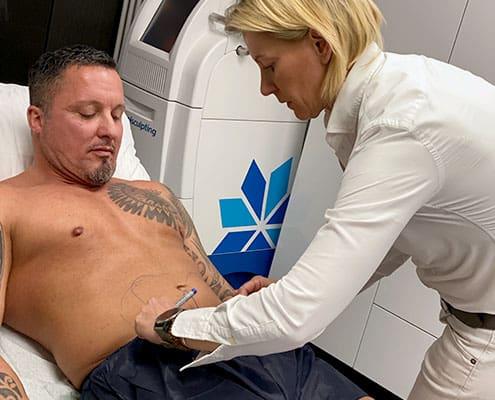 Coolsculpting Behandlung bei Dr. med. Katrin Müller in Hannover