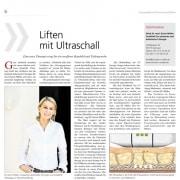 Lifting mit Ultraschall