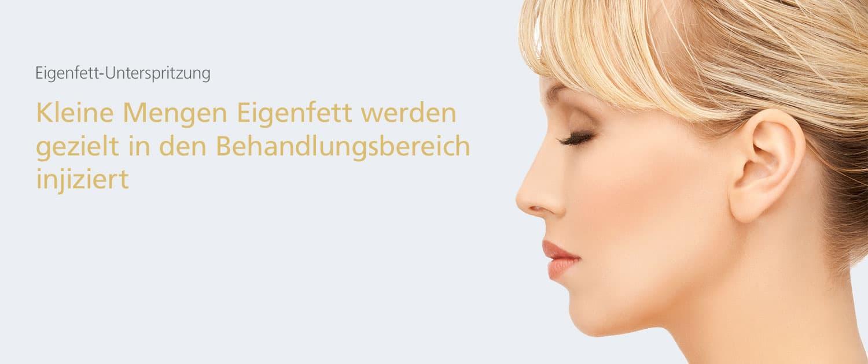 Eigenfettunterspritzung in der Klinik Dr. Katrin Müller in Hannover