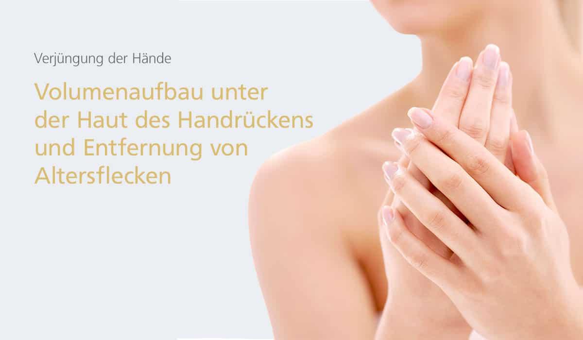 Verjüngung der Hände bei Dr. med. Katrin Müller in Hannover