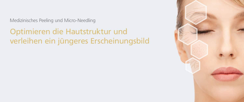Medizinisches Peeling und Micro-Needling in der Klinik Dr. Katrin Müller in Hannover