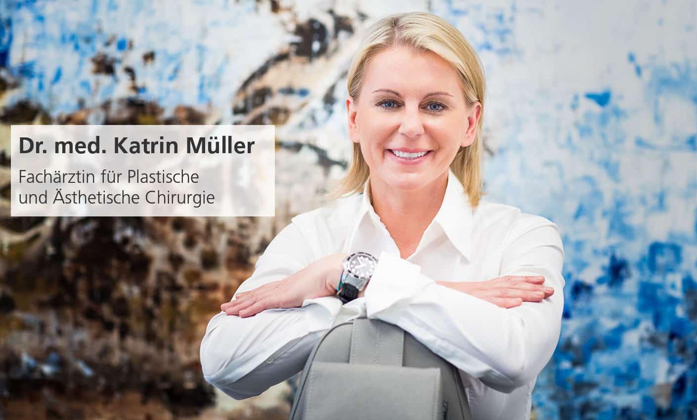 Dr. med. Katrin Müller ist Fachärztin für Plastische und Ästhetische Chirurgie in Hannover