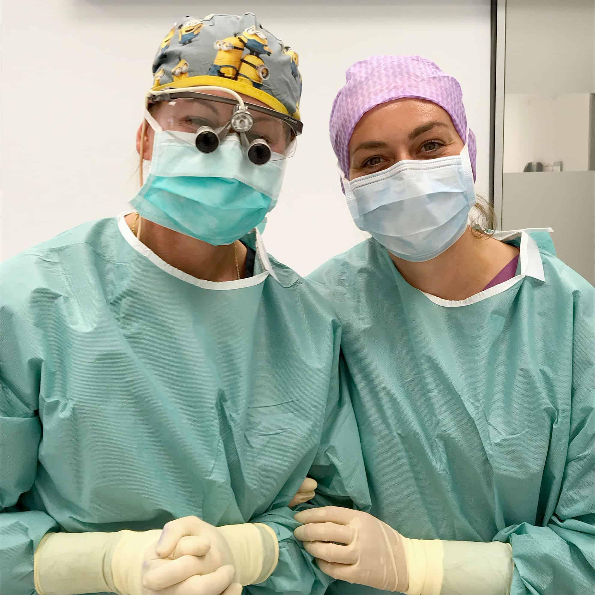 Eine komplett weibliche Behandlung von der ersten Beratung über die Intervention bzw. Operation inklusive der Narkoseärztin bis hin zur Nachsorge