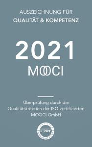 MOOCI Qualitätssiegel 2021 für die Klinik Dr. Katrin Müller Hannover